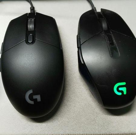 左がG-PRO、右がG302の画像